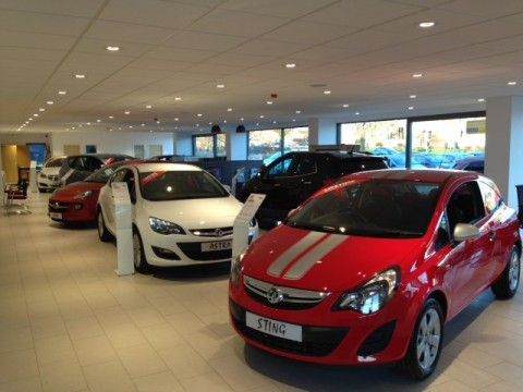Dealership refurbishment