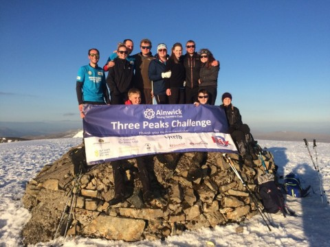Alnwick Young Farmers do Three Peak Challenge !