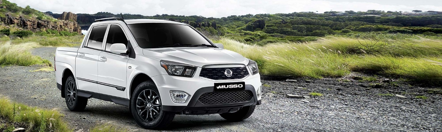Ssangyong Musso from £199 + vat