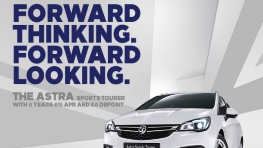 Astra Sports Tourer 5 years 0% APR