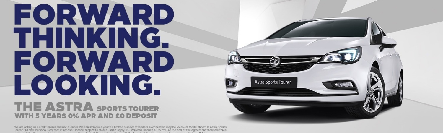 Astra Sports Tourer 5 years 0% APR Offer