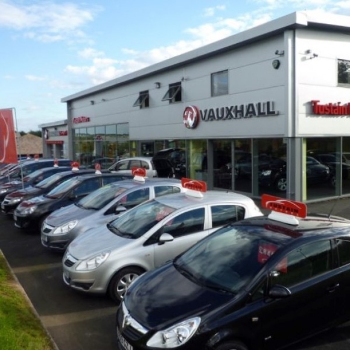 Tustain Vauxhall Dealership